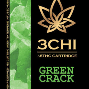 3CHI vape cart - Green Crack