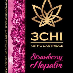 3CHI vape cart - Strawberry Napalm