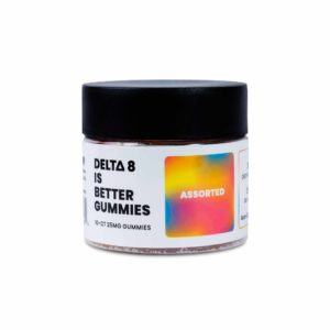 Delta 8 is Better - Delta 8 THC Gummies - Assorted