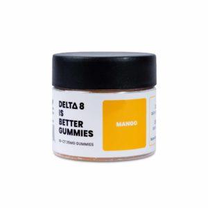 Delta 8 is Better - Delta 8 THC Gummies - Mango