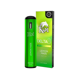 Koi Delta 8 THC Disposable Vape Bars - Lemon Haze