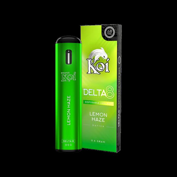 Koi Delta 8 THC Disposable Vape Bars - Lemon Haze