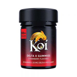 Koi Delta 8 THC Gummies - Strawberry