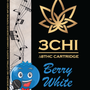 3CHI vape cart - Berry White