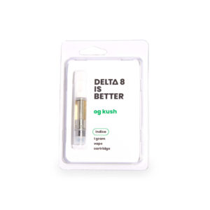 Delta 8 is Better OG Kush Delta 8 THC Vape Cart