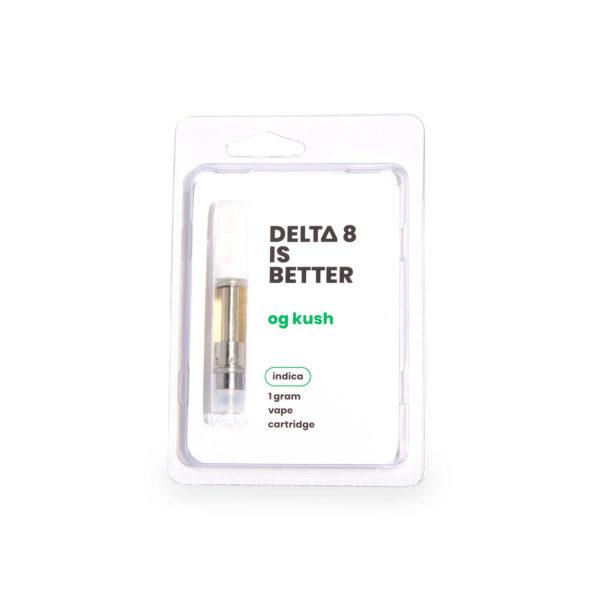 Delta 8 is Better OG Kush Delta 8 THC Vape Cart
