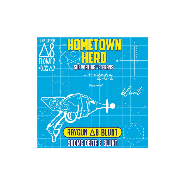 Hometown Hero Delta 8 THC Blunt - Raygun