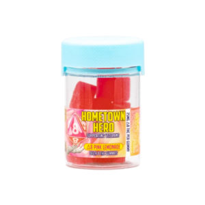 Hometown Hero Pink Lemonade Delta 8 Gummies