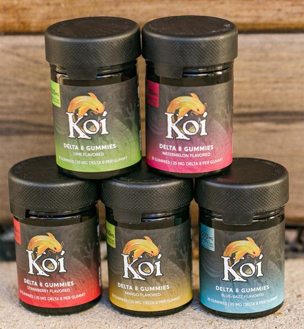 Koi Delta 8 Gummies - All flavors